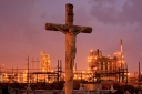 Cemetery and Petrochemical Plant, Baton Rouge, Louisiana